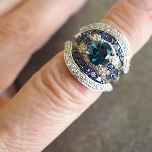 Jewelry - London Blue Topaz Sterling Silver Ring
